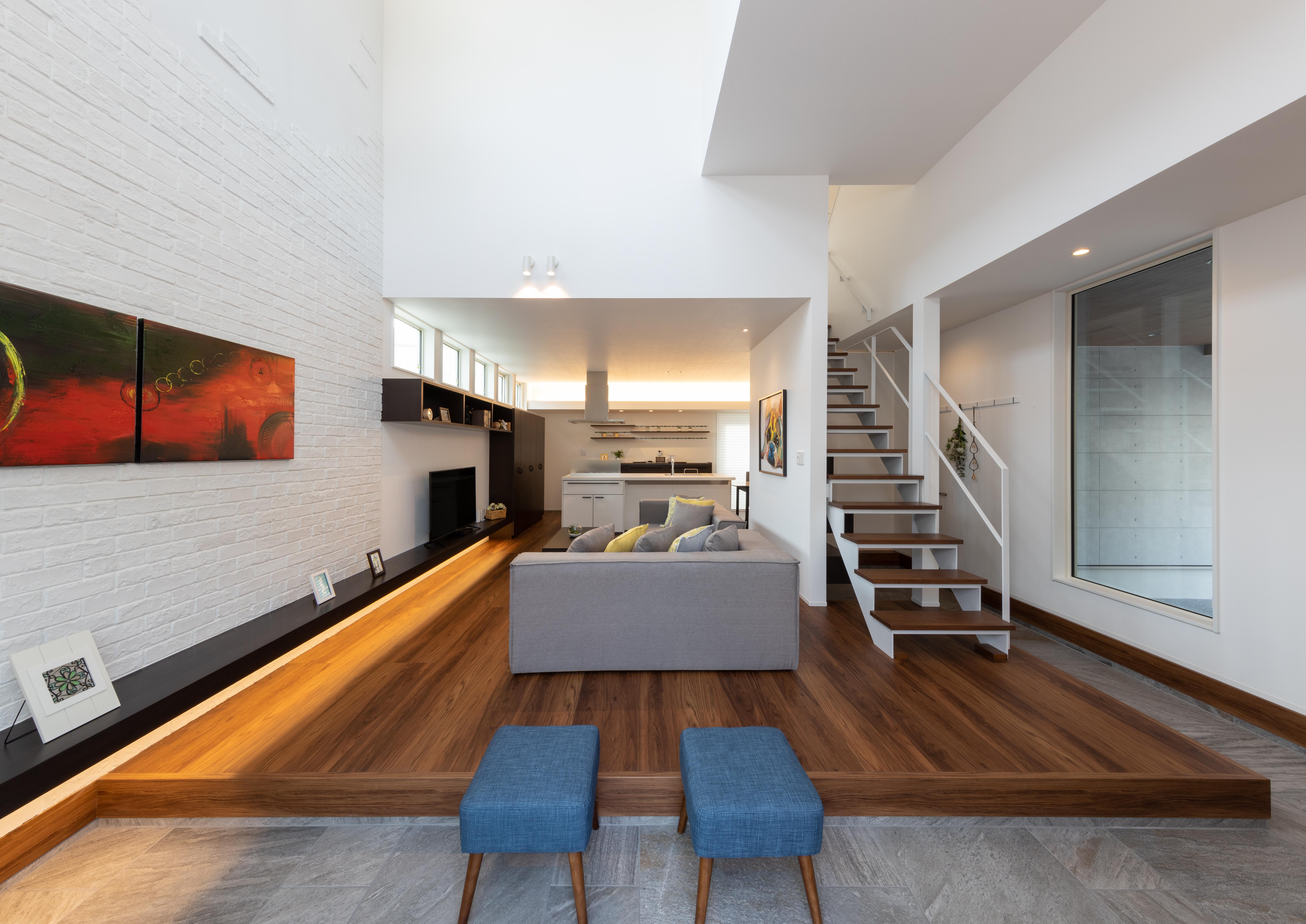 モデルハウス 「豊かさをもたらすアトリエのある邸宅」